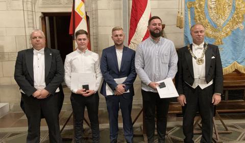 Henrik Pedersen, Oldermand fra Københavns Automekaniker Laug og Landsformand for Dansk Bilbrancheråd