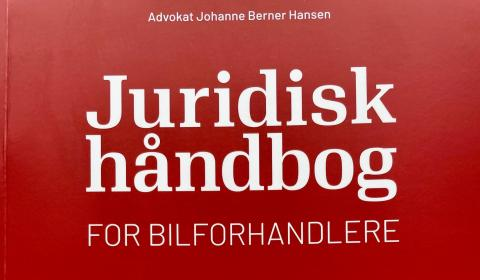 Advokat Johanne Berner Hansen har skrevet en juridisk håndbog til vejledning ved bilsalg.
