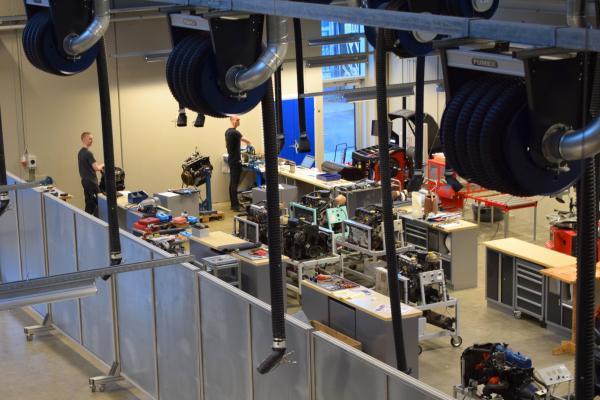 Billedet er fra det helt nye College360 i Silkeborg.